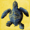 Map Turtle Y Indigo Poster Print by Jace Grey - Item # VARPDXJGSQ368A4