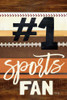 #1 Sports Fan Poster Print by Marla Rae - Item # VARPDXMA2492
