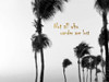 Wandering Golden Palms Poster Print by Tracey Telik - Item # VARPDXTKRC129F