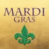 Mardi Gras Gold Poster Print by Brown,Victoria Brown - Item # VARPDXVBSQ068B