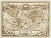 Mappa del Globo Terraqueo Poster Print by Anonymous Anonymous # AA3104