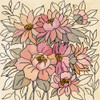 Spring Lace Floral II Poster Print by Silvia Vassileva # 64823