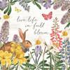 Easter Garden II Bow Tie Poster Print by Katie Pertiet # 59550