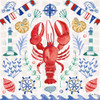 Maritime Delight III Poster Print by Farida Zaman # 58685