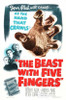 The Beast With Five Fingers Movie Poster Print (27 x 40) - Item # MOVAB65063