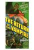 The Return of the Vampire Movie Poster Print (27 x 40) - Item # MOVGF3307