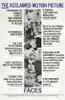 Faces Movie Poster (11 x 17) - Item # MOVCI2649