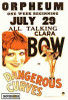 Dangerous Curves Movie Poster Print (27 x 40) - Item # MOVIH0608