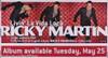 Ricky Martin Livin' La Vida Loca Poster - Item # RAR99911052