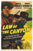 Law of the Canyon Movie Poster (11 x 17) - Item # MOV208574