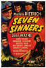 Seven Sinners Movie Poster Print (27 x 40) - Item # MOVGF8347