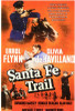Santa Fe Trail Movie Poster Print (27 x 40) - Item # MOVEF7344