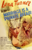 Marriage is a Private Affair Movie Poster (11 x 17) - Item # MOV199507