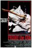 Friday The 13Th Movie Poster Masterprint (11 x 17) - Item # EVCMMDFRTHEC003