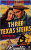 Three Texas Steers Movie Poster (11 x 17) - Item # MOV199913