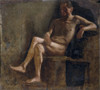 Study For A Male Nude Poster Print - Item # VAREVCMOND075VJ345H