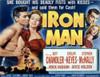 Iron Man Us Lobbycard Jeff Chandler Evelyn Keyes Stephen Mcnally 1951 Movie Poster Masterprint - Item # VAREVCMSDIRMAEC002H