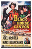 Black Horse Canyon Us Poster Art Top Right Inset: Mari Blanchard Joel Mccrea; Bottom Right: Race Gentry 1954 Movie Poster Masterprint - Item # VAREVCMCDBLHOEC035H