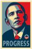 RARE Obama Campaign Poster - PROGRESS Movie Poster (11 x 17) - Item # MOV421391