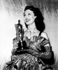 Loretta Young With Her Academy Award For Farmer'S Daughter 3/20/48 Photo Print - Item # VAREVCPBDLOYOEC030H