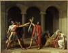 3456  Jacques-Louis David French School Poster Print - Item # VAREVCCRLA004YF455H