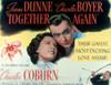 Together Again Irene Dunne Charles Boyer 1944 Movie Poster Masterprint - Item # VAREVCMSDTOAGEC001H