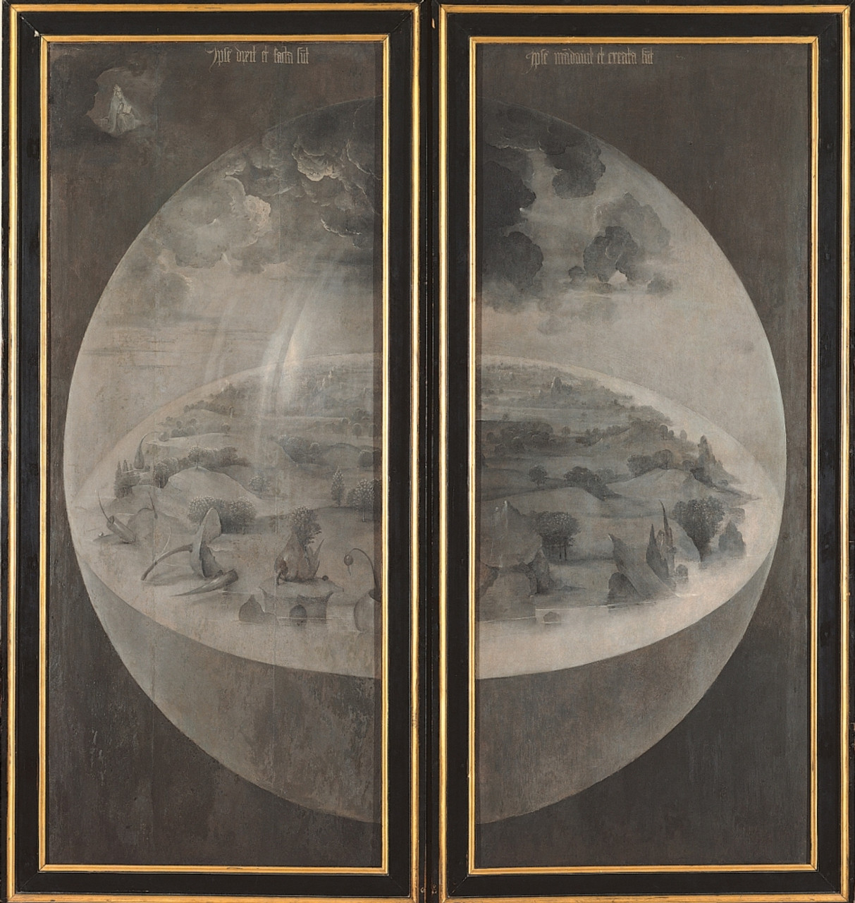 Tryptich Of The Garden Of Earthly Delights , The Creation Of The World  Poster Print , Item  VAREVCMOND024VJ387H