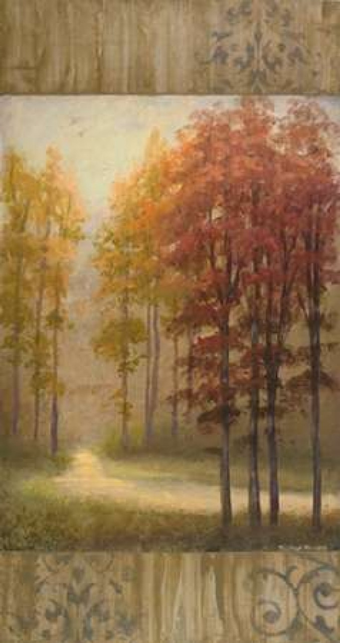October Trees I Poster Print By Michael Marcon Item Varpdx7118 Posterazzi
