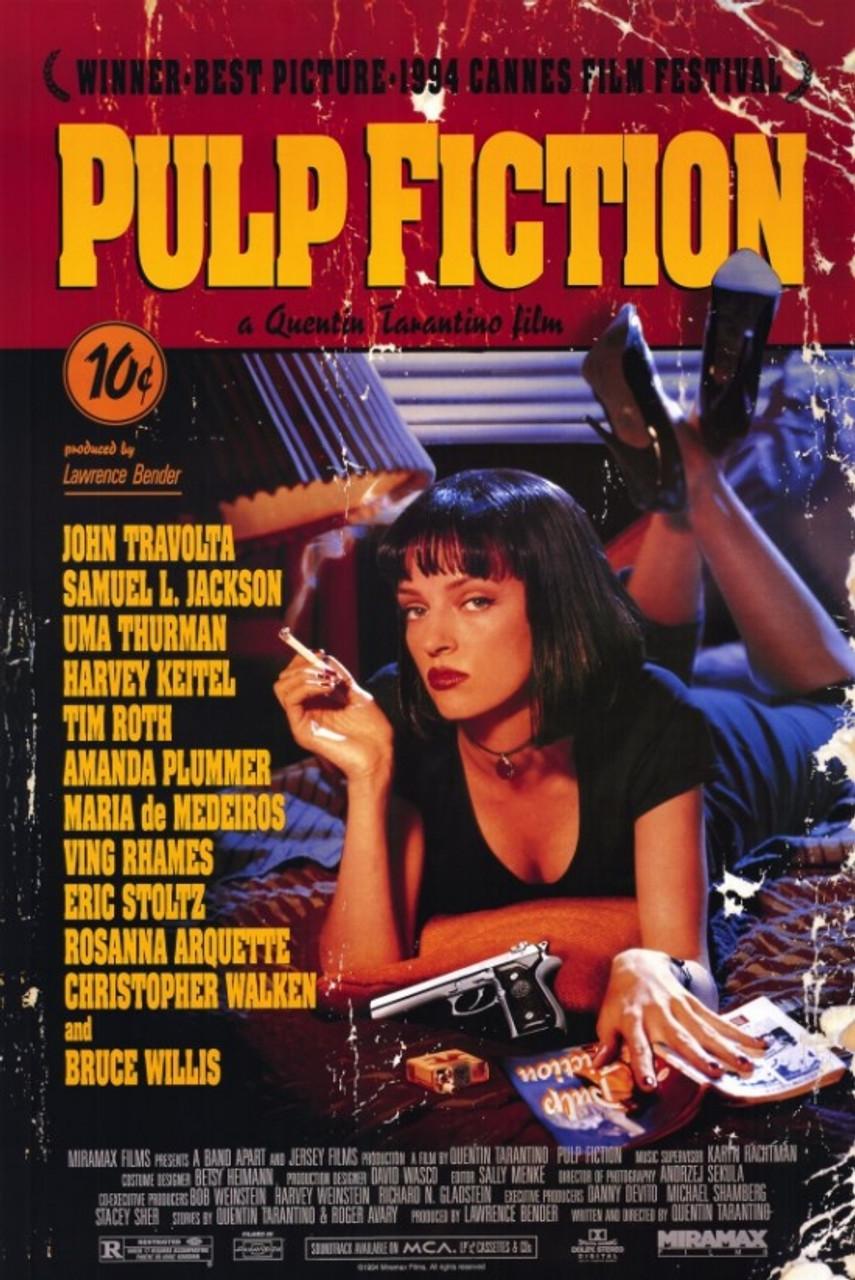 Pulp Fiction Movie Poster Print 20 x 20   Item  MOVIG20