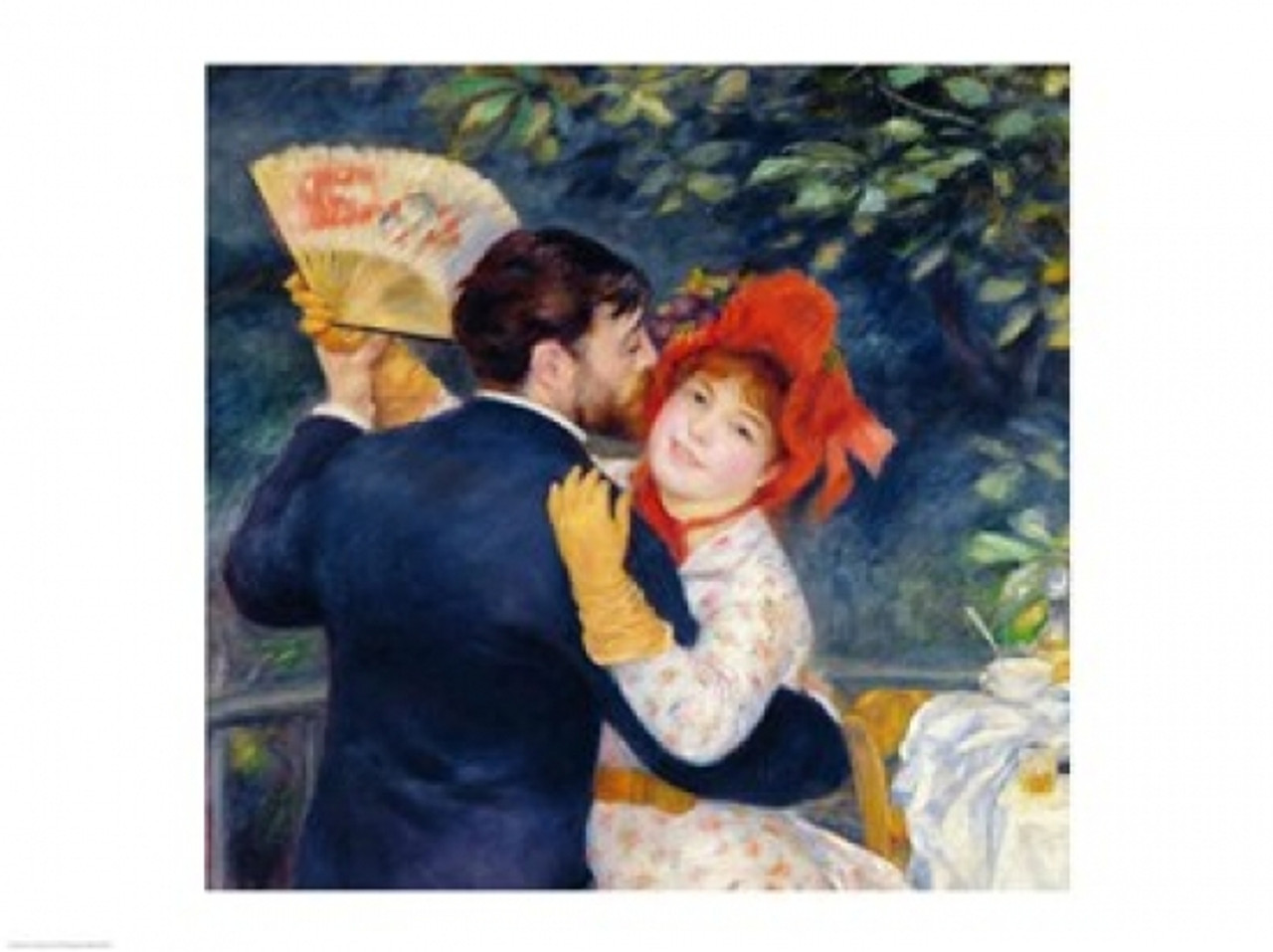 A Dance In The Country 1883 Poster Print By Pierre Auguste Renoir Item Varbalart394970 Posterazzi