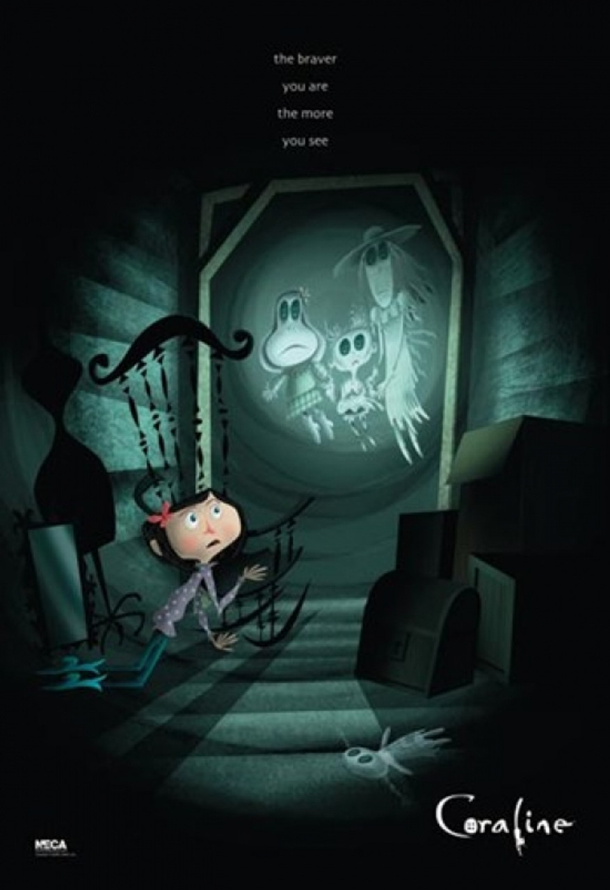 Coraline The Braver You Are Poster Poster Print Item Varpyrpas0072 Posterazzi