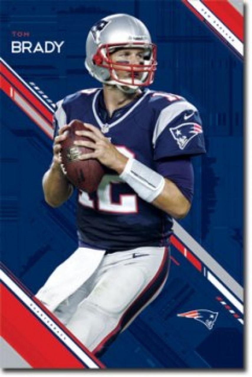 e2ff3bfdf5f55 New England Patriots Tom Brady Poster Poster Print - Item # VARSCO5944