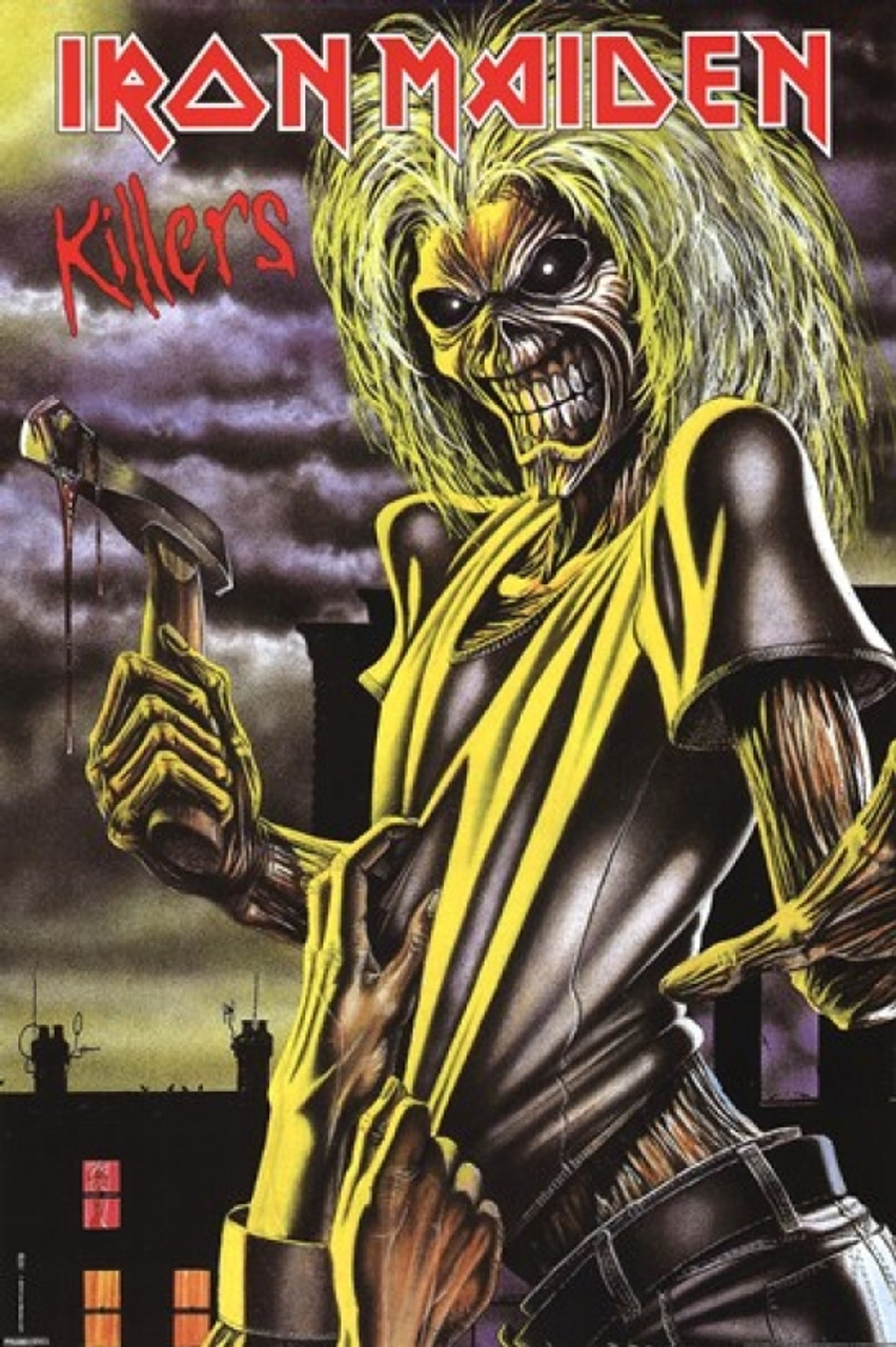 3090dcc8b0 Iron Maiden - Killers Poster Poster Print - Item # VARPYRPAS0164 -  Posterazzi