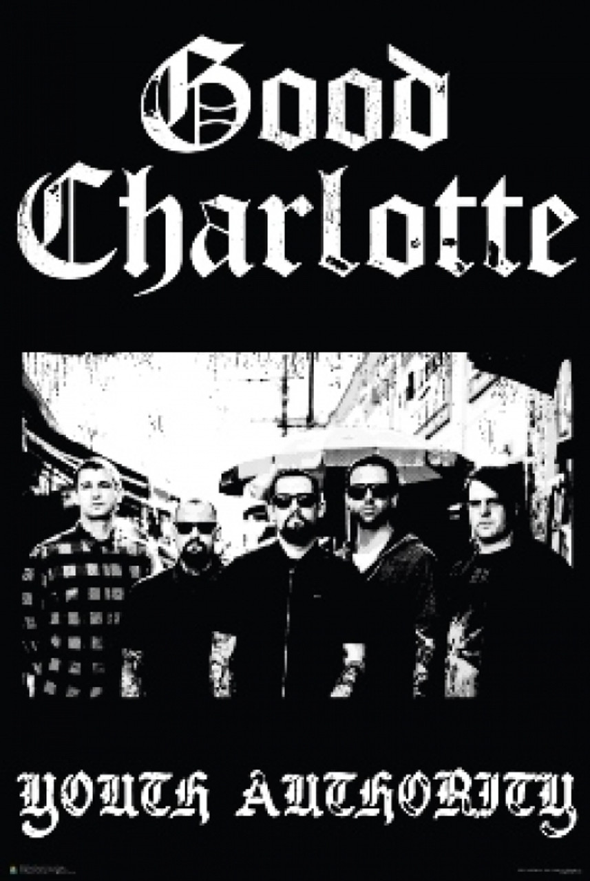 YOUTH AUTHORITY POSTER GOOD CHARLOTTE 24x36 MUSIC 3302