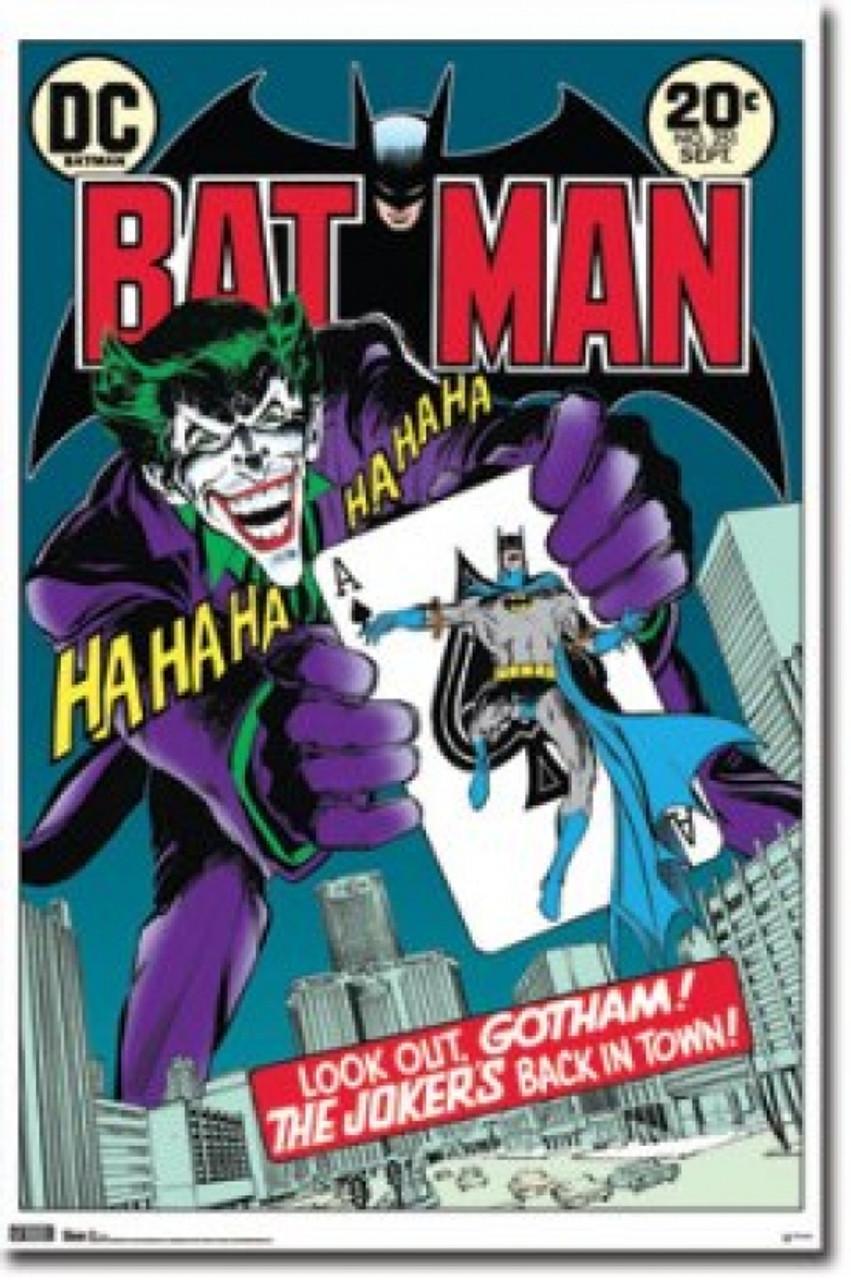 Dc Comics Batman Comic Book Cover Joker Poster Poster Print Item Varsco6846