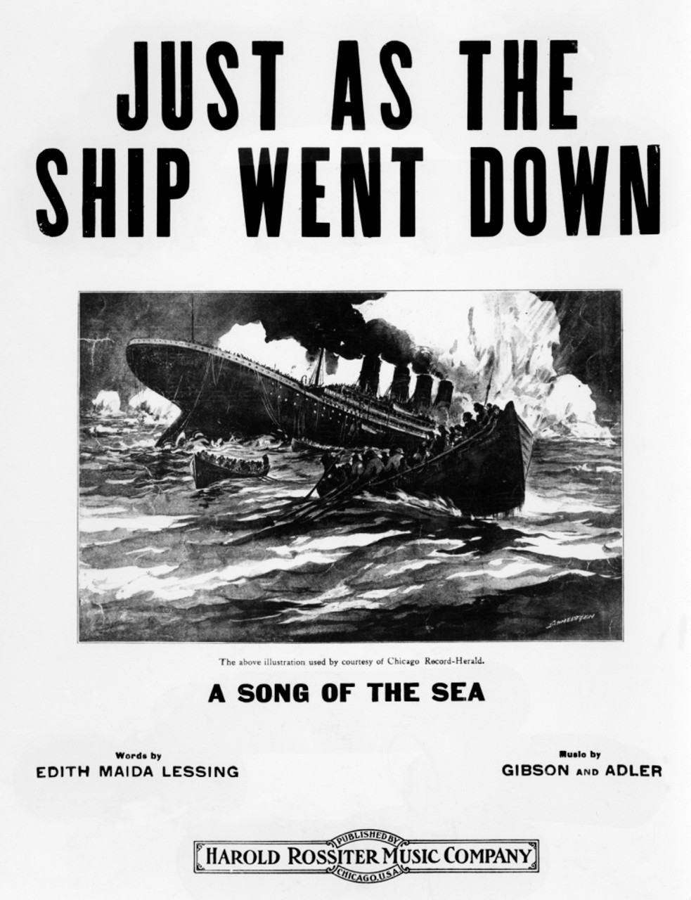 Newspaper Front Sheet Page Titanic Disaster 1912 Times Canvas Wall Art Print