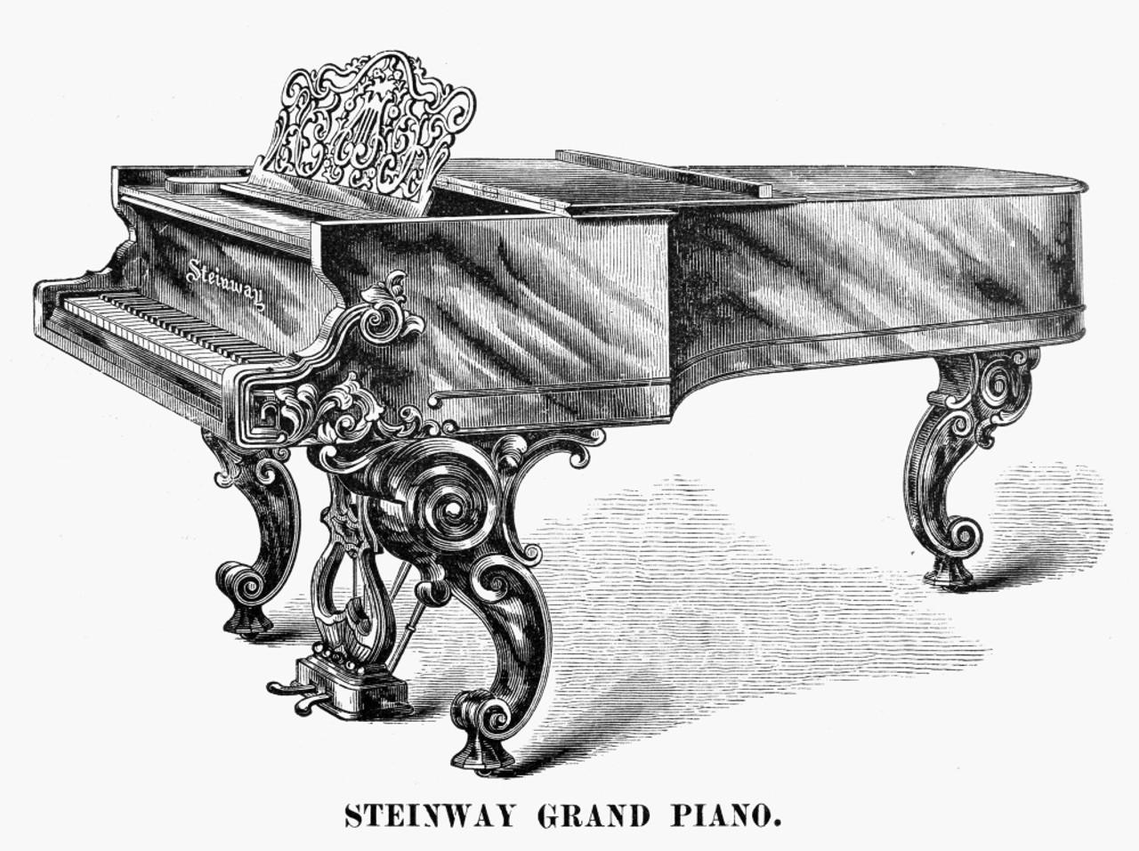 Art Ad Steinway Pianos  Piano    Deco Poster Print