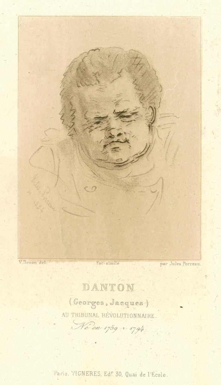 Georges Danton georges danton (1759-1794). /ngeorges jacques danton. french revolutionary  leader. poster printgranger collection - item # vargrc0068453