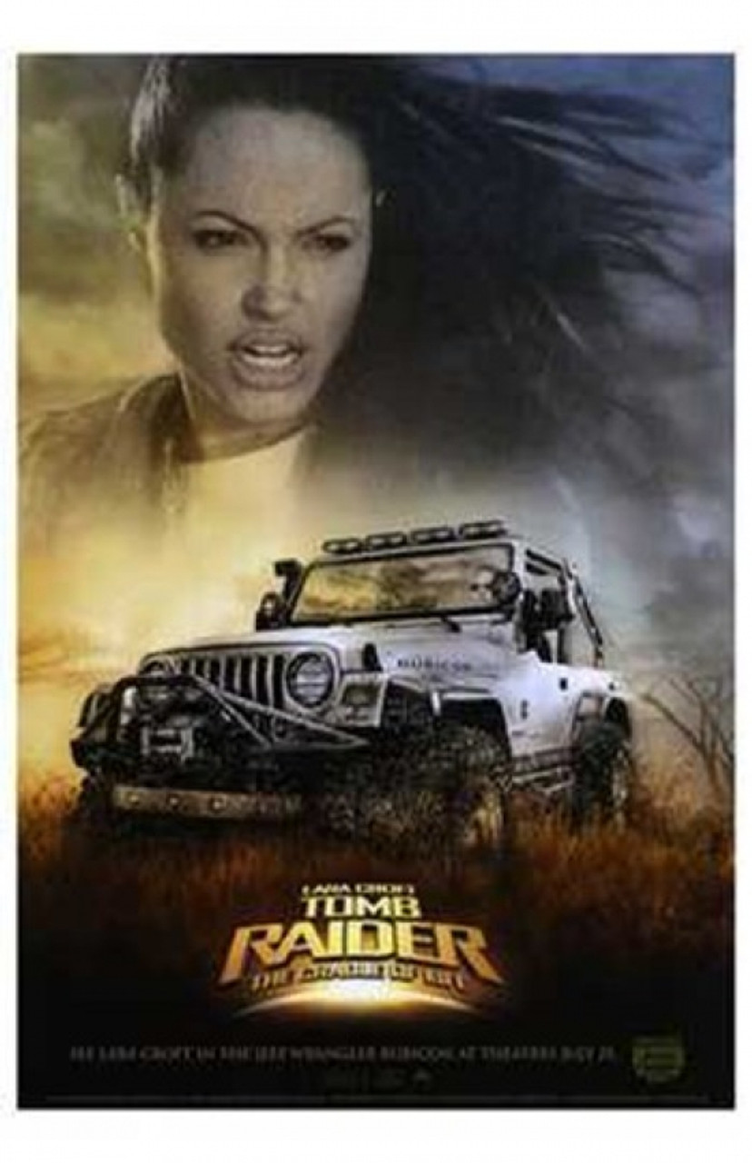 Lara Croft Tomb Raider The Cradle Of Li Movie Poster 11 X 17