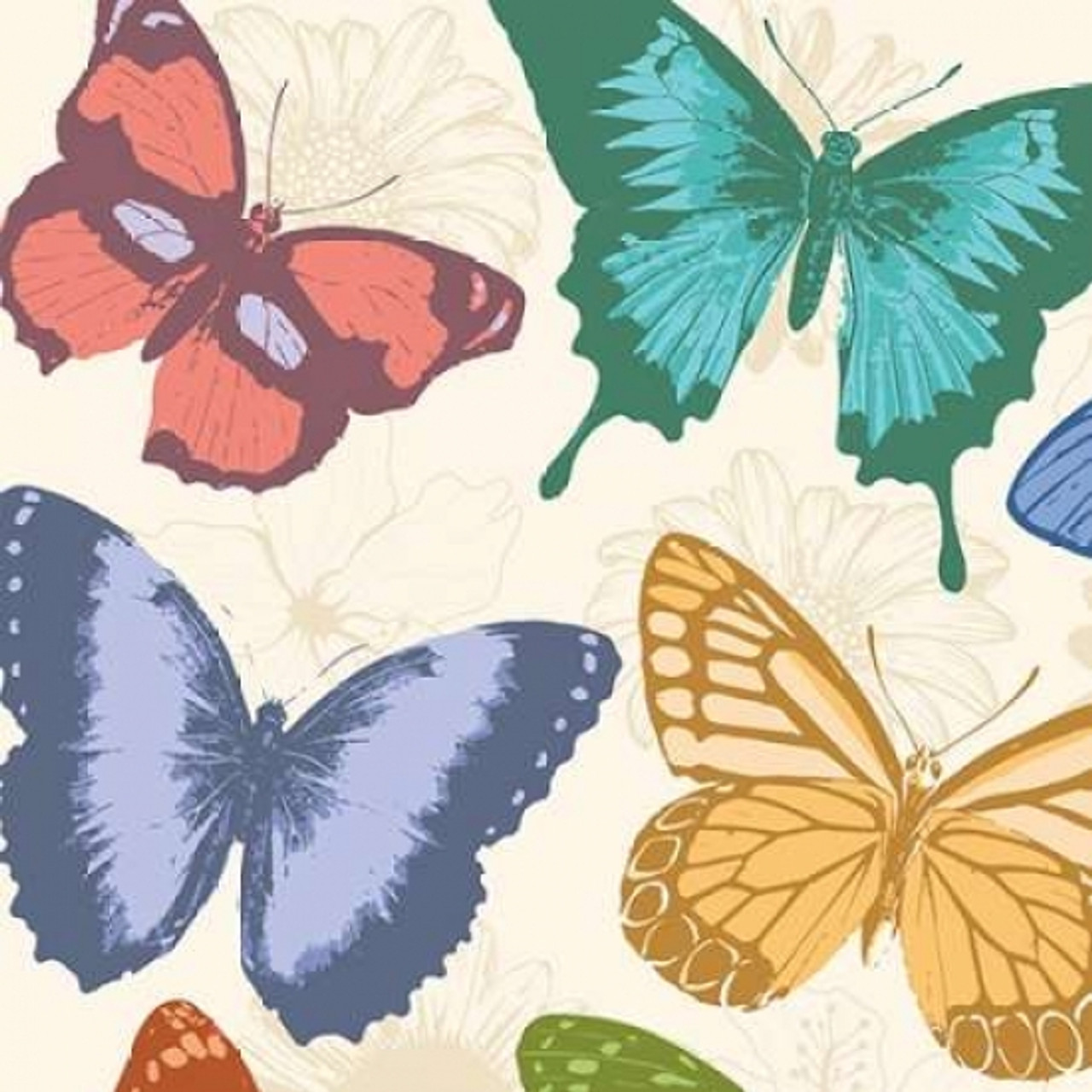 Colorful Butterflies Poster Print By Jace Grey Item