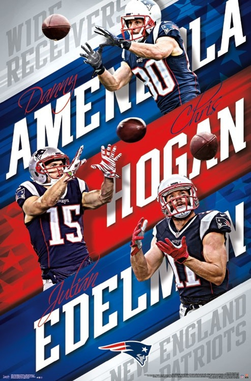 detailed look ac7f4 03d74 New England Patriots - Wide Receivers Poster Print - Item # VARTIARP16021