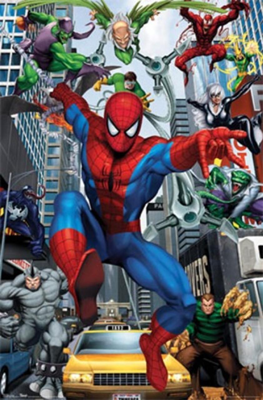 Spider Man Rogues Poster Print Item Vartiarp8787 Posterazzi