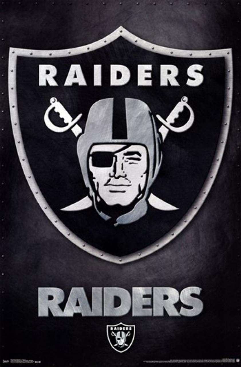 Oakland Raiders Logo 13 Poster Print Item Vartiarp2462 Posterazzi