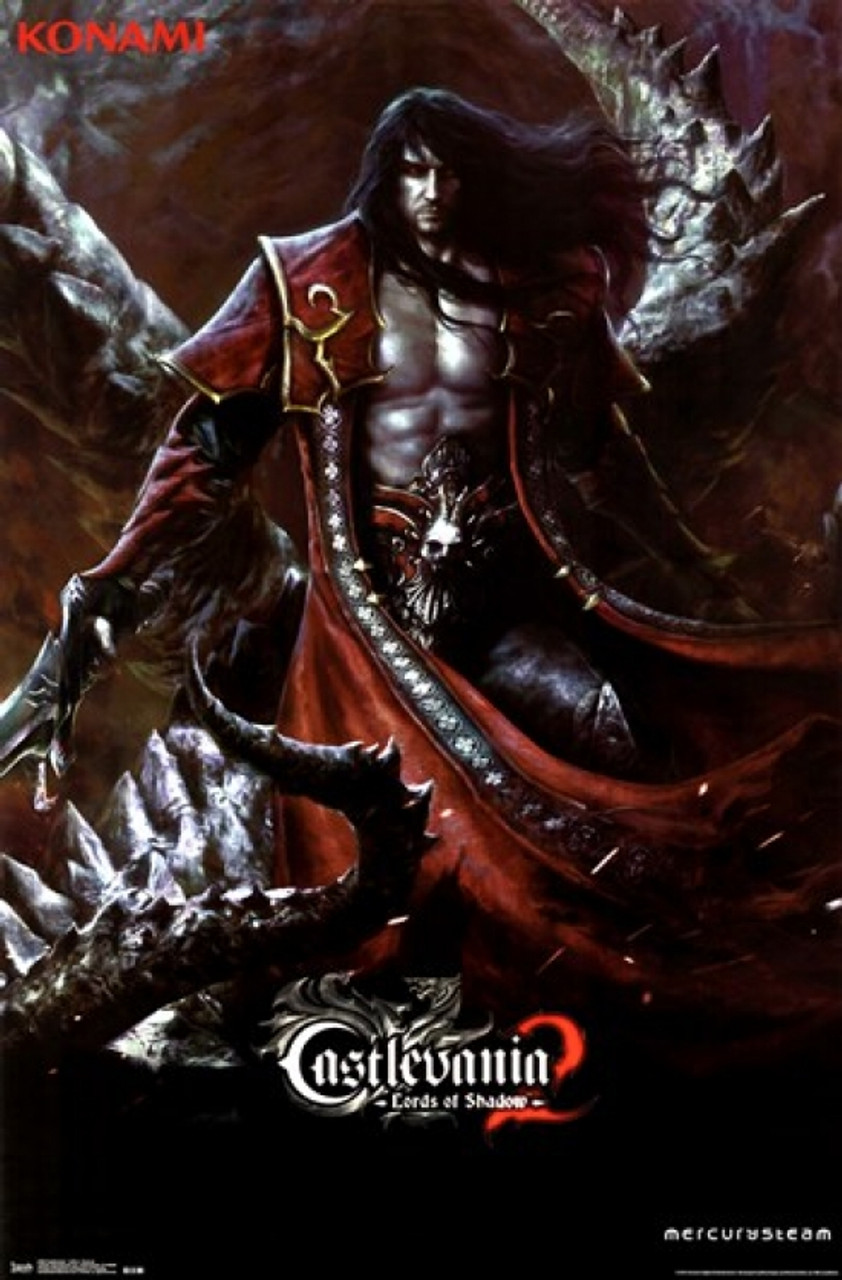 Castlevania 2 - Lords of Shadow - Dracula Poster Print - Item # VARTIARP2180