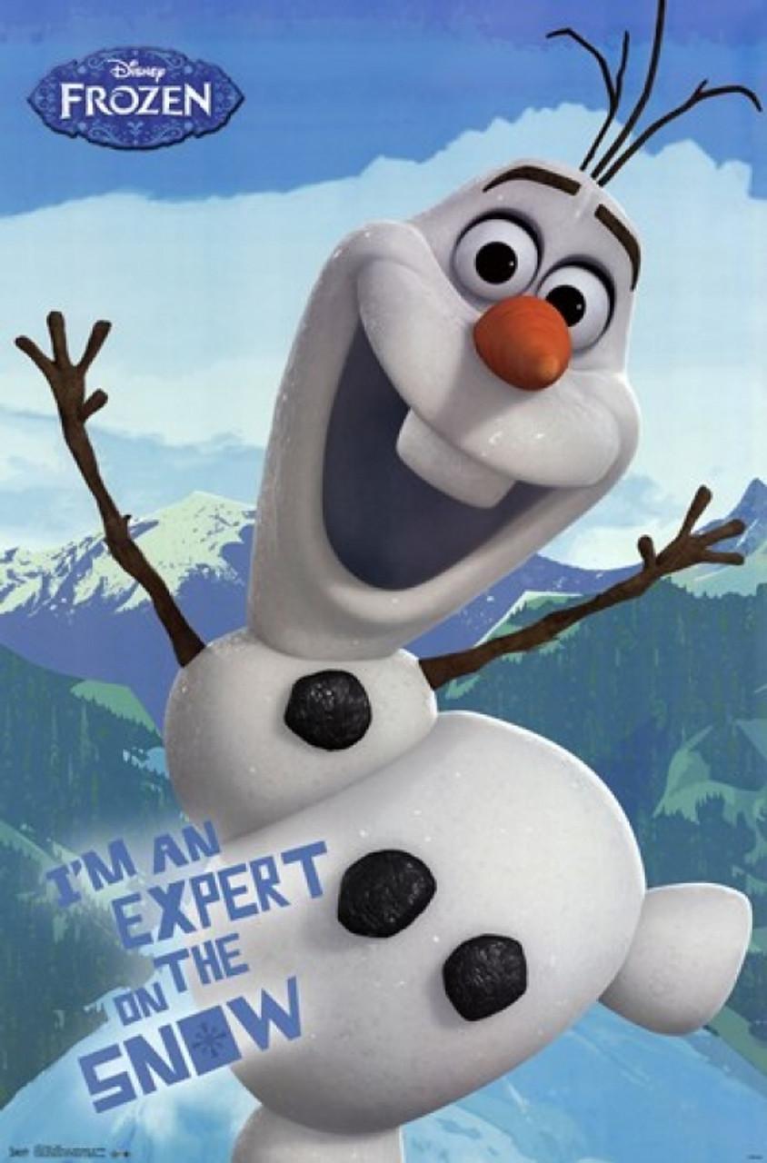 Frozen Olaf Poster Print Item Vartiarp2195 Posterazzi