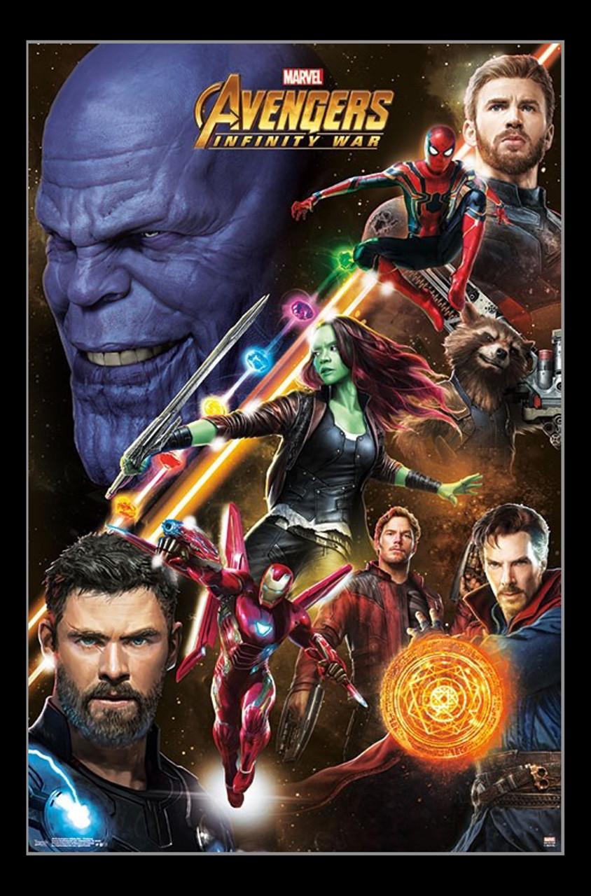 Avengers Infinity War Challenge Poster Print Item Vartiarp16235 Posterazzi