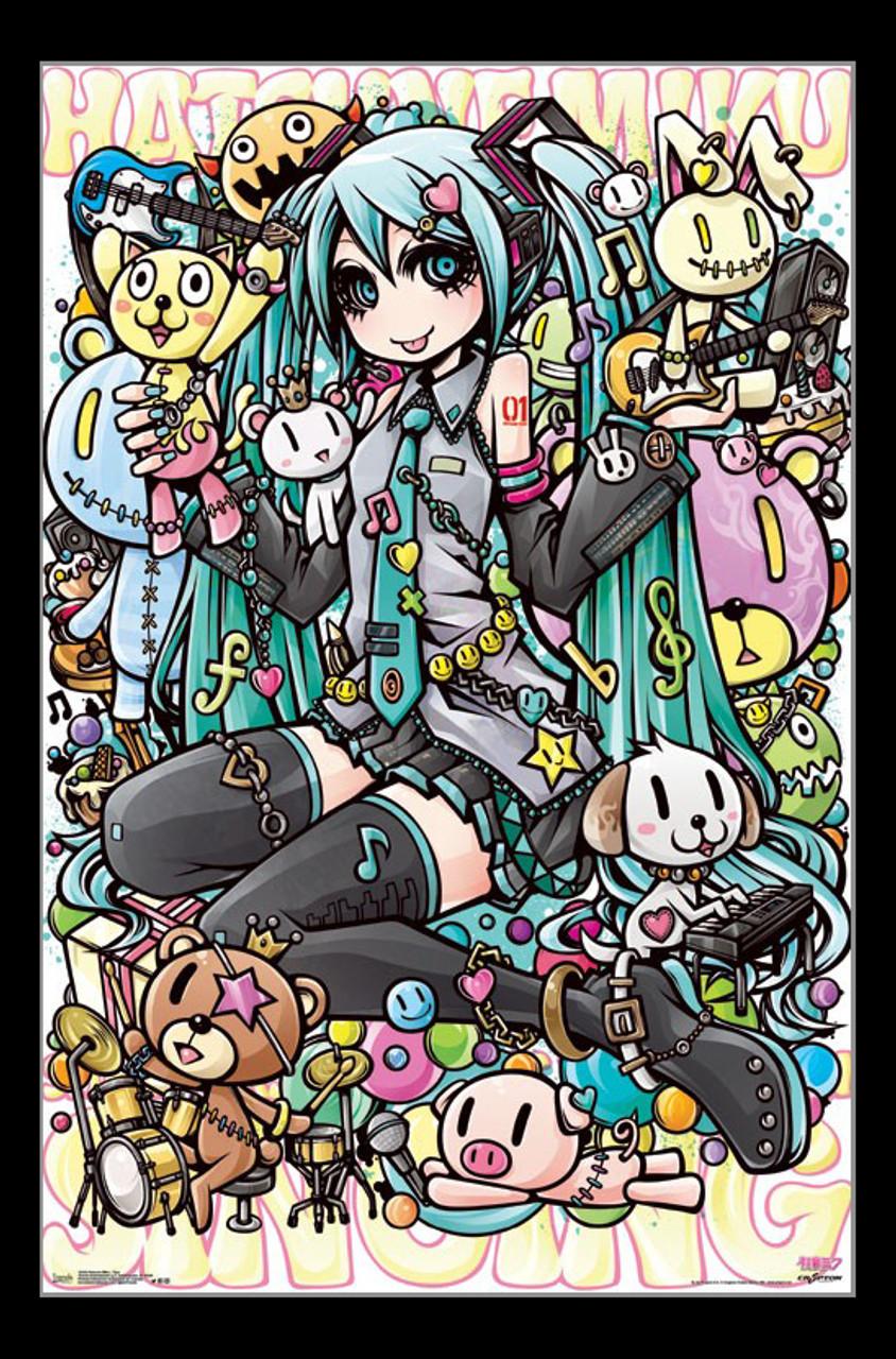 Hatsune Miku Toys Poster Print Item Vartiarp15420 Posterazzi