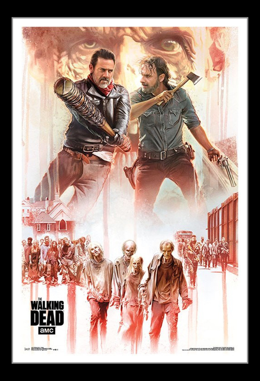 The Walking Dead 2018 TV Series All Here 2018 Film LW-Canvas Poster P-22