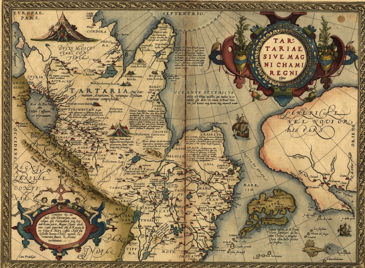 1570 Map Of \