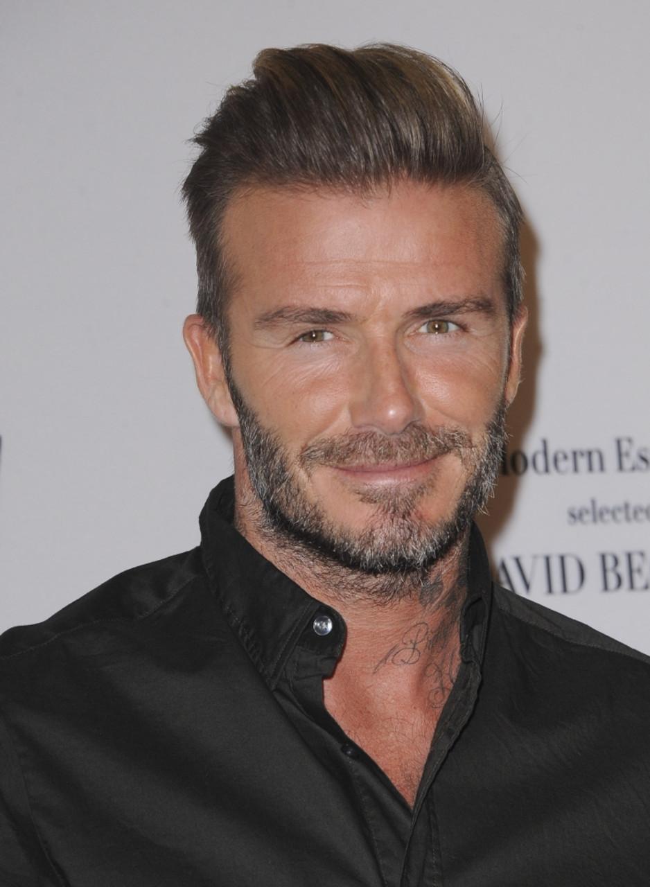 David Beckham In Attendance For David Beckham S H M Modern Essentials Campaign Launch H M S Fig At 7th